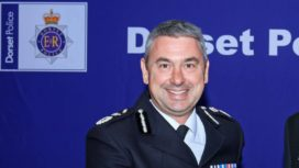 Dorset chief constable James Vaughan