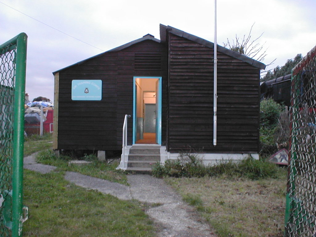 Air cadet hut