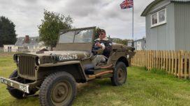 American World War Two jeep