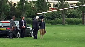 Princess Royal visiting Swanage