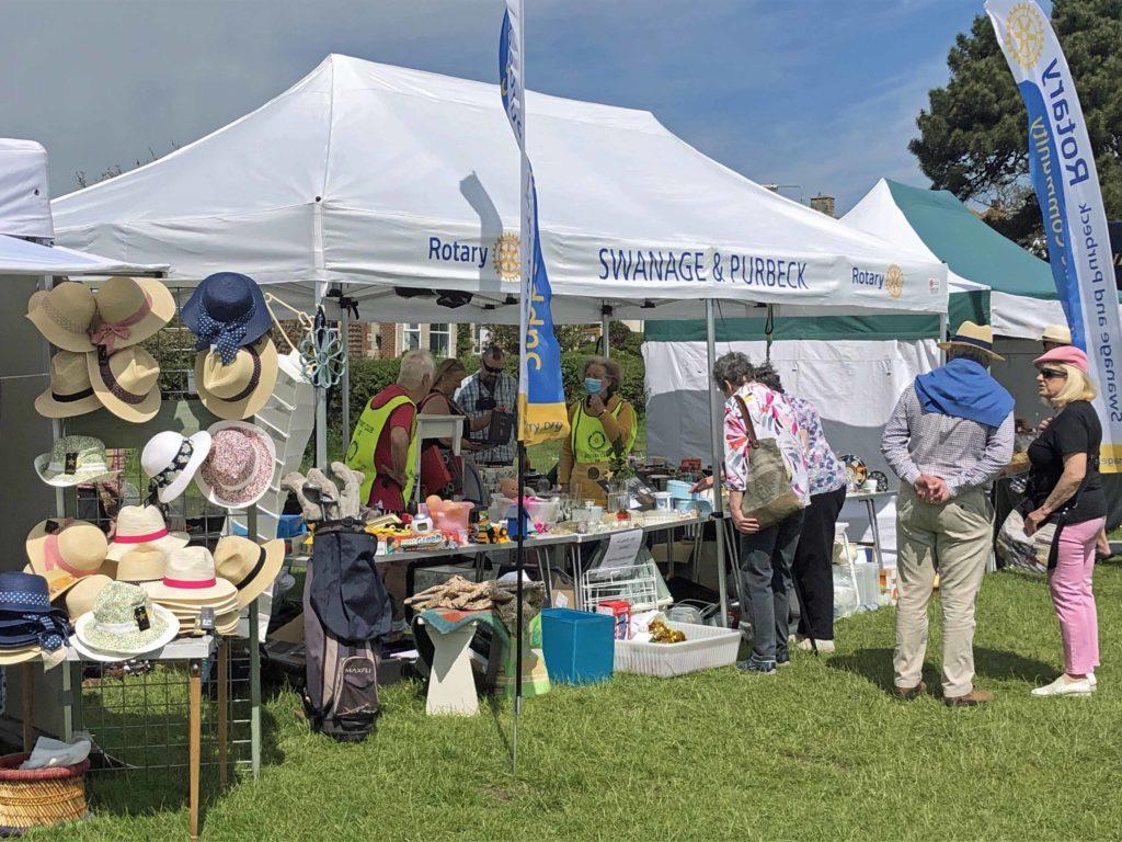 Rotary stall at May Market 2021