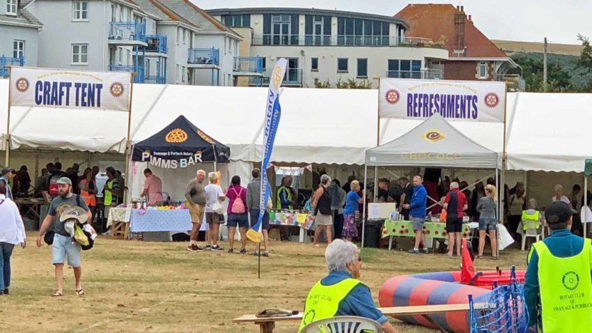 Rotary summer fete