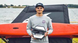 Sam Whaley winner in the UK Waszp National 2021