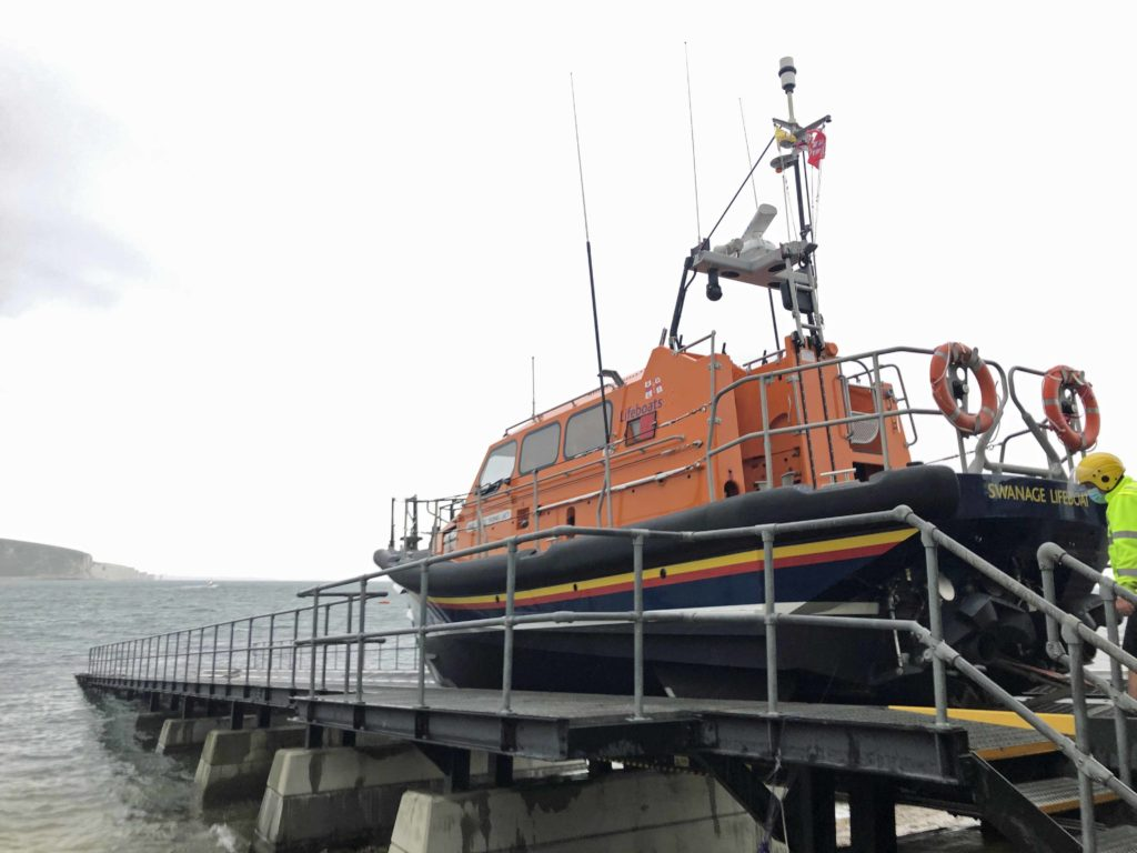 Swanage RNLI all weather lifeboat