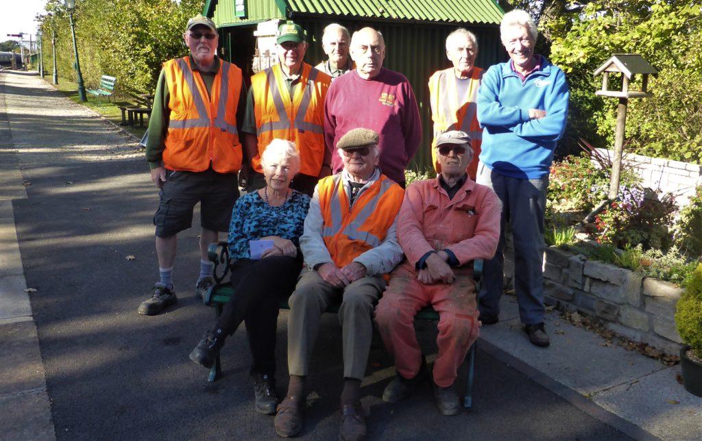 Harmans Cross Railway volunteers