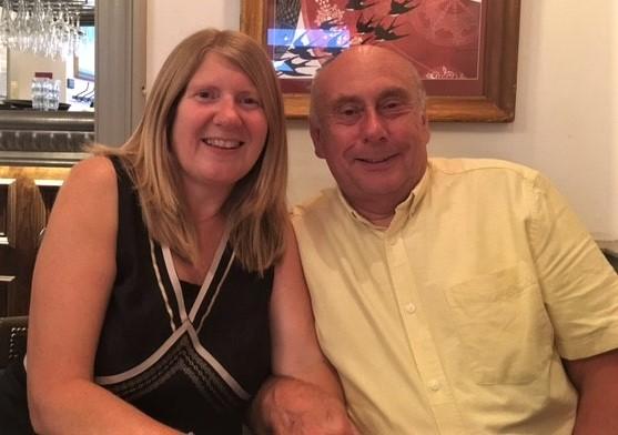 Sue and Bob Bunyar