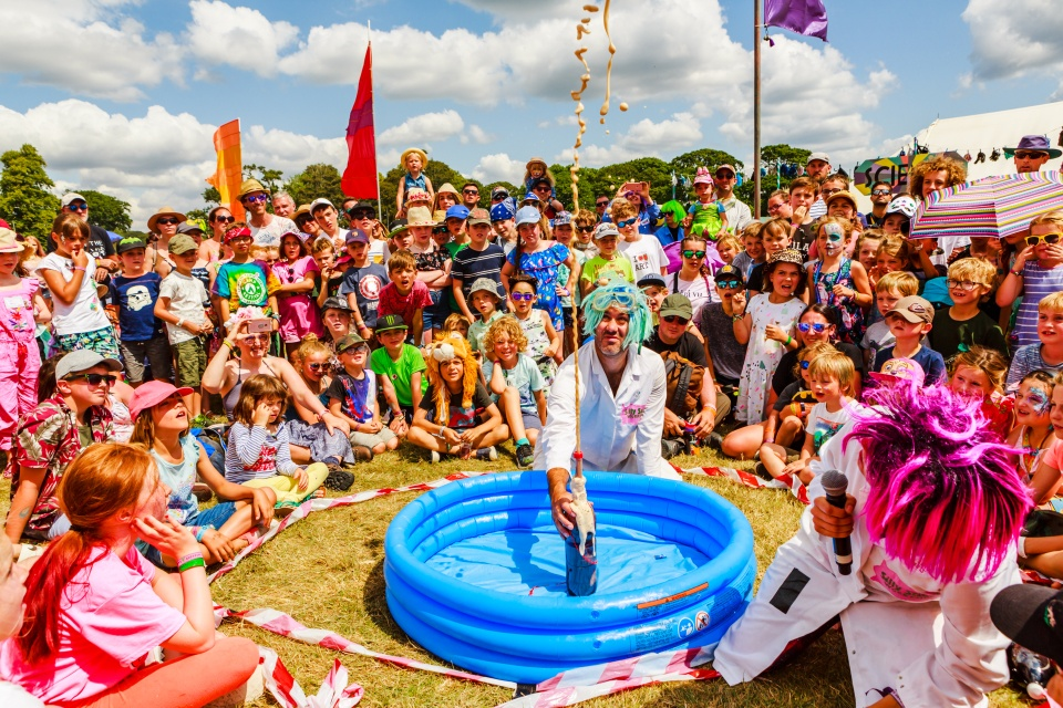 Children's event at Camp Bestival