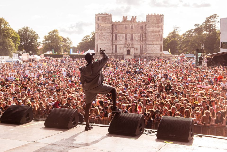 Camp Bestival stage