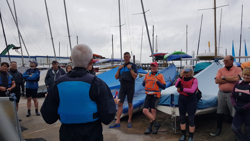 Sailing Club training