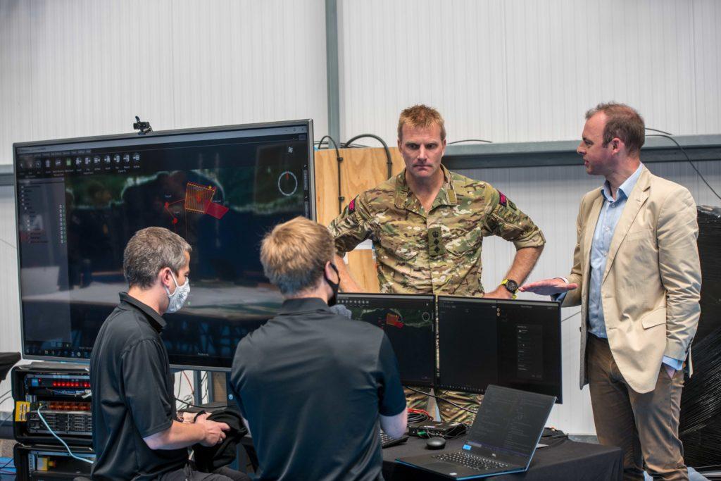 Matt Warman visits Battle Hub