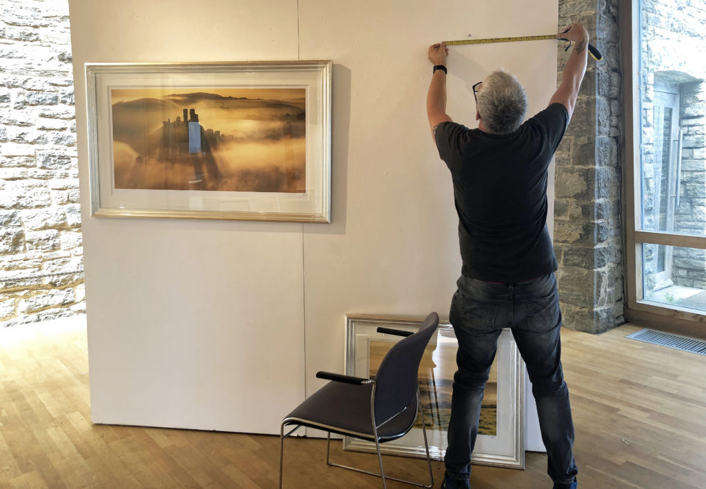 Andy Farrer at the Fine Foundation Gallery at Durlston