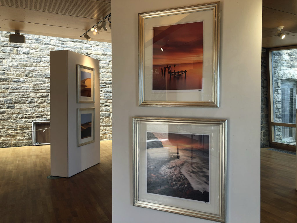 Andy Farrer exhibition at the Fine Foundation Gallery at Durlston (