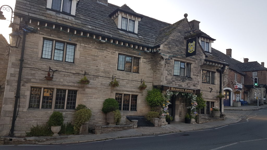 The Bankes Arms at Corfe Castle