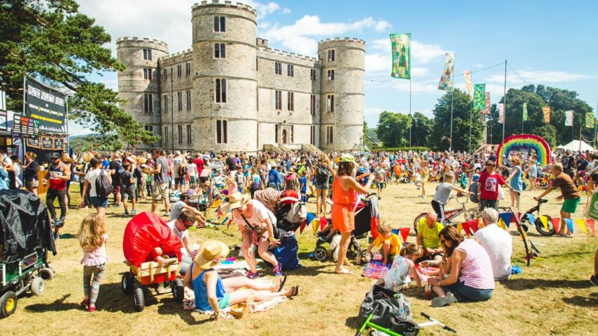 Camp Bestival at Lulworth Castle