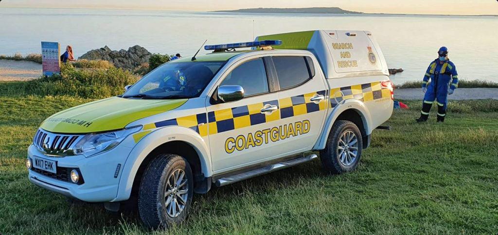 Kimmeridge Coastguard vehicle