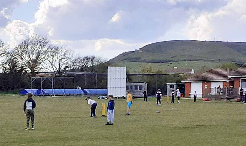 Swanage Cricket club practice session