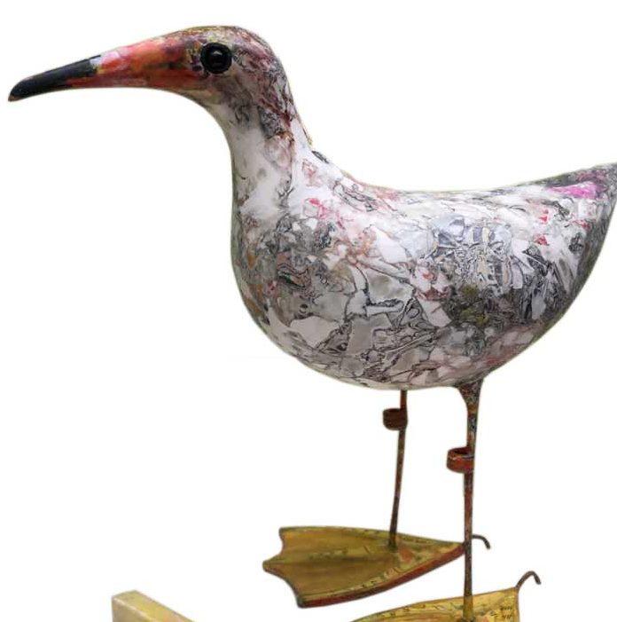Seagul sculpture