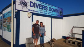 Outside Divers Down