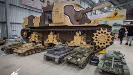 Models and real tank