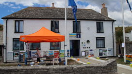 Swanage Information Centre in Shore Road