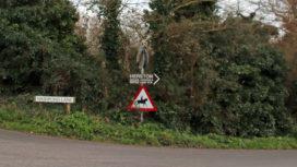 Washpond Lane in Swanage