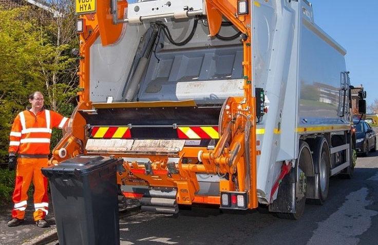 Dorset Council bin lorry