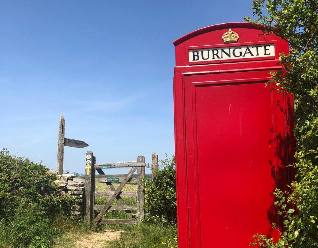 Burngate phone box