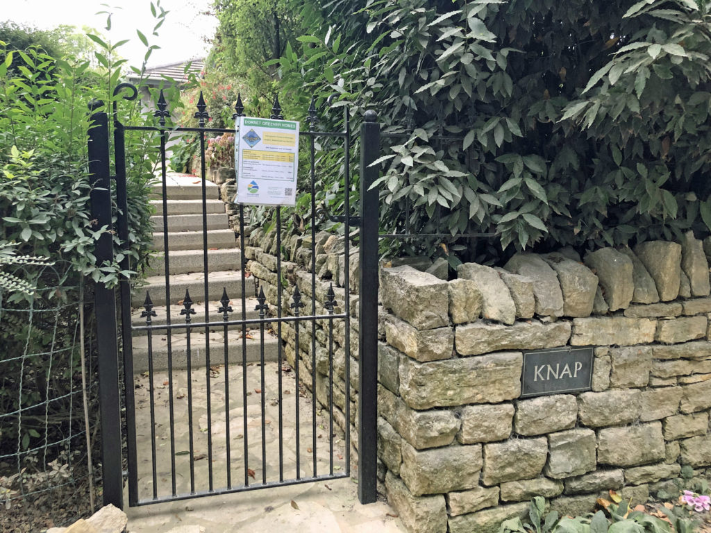Gate at eco home