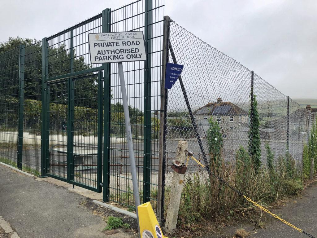 Old St Mark's School sports court