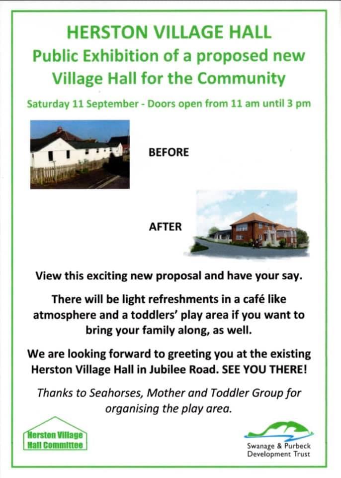 Herston Village Hall poster