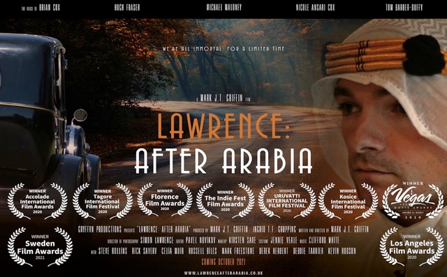 Lawrence After Araia poster