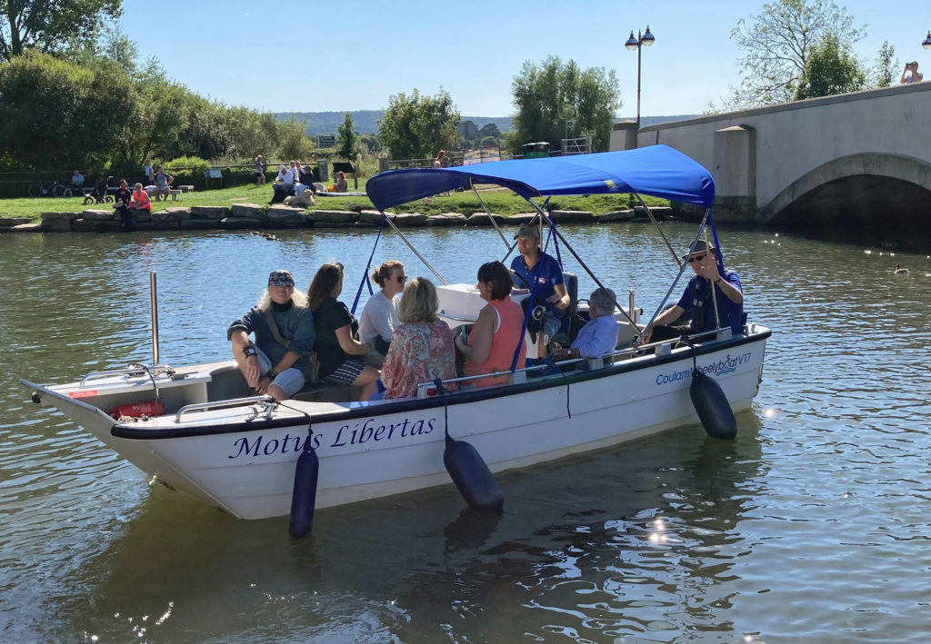 Boat trip in Wareham as part of Planet Purbeck Festival