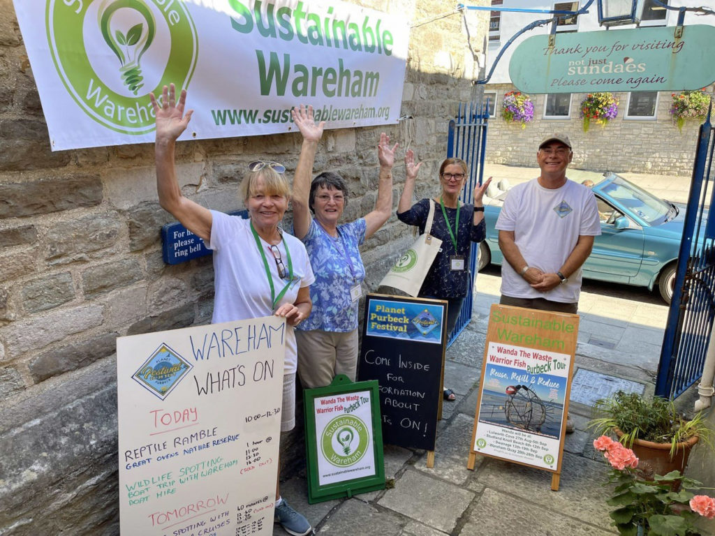 Sustainable Wareham hub at Planet Purbeck Festival
