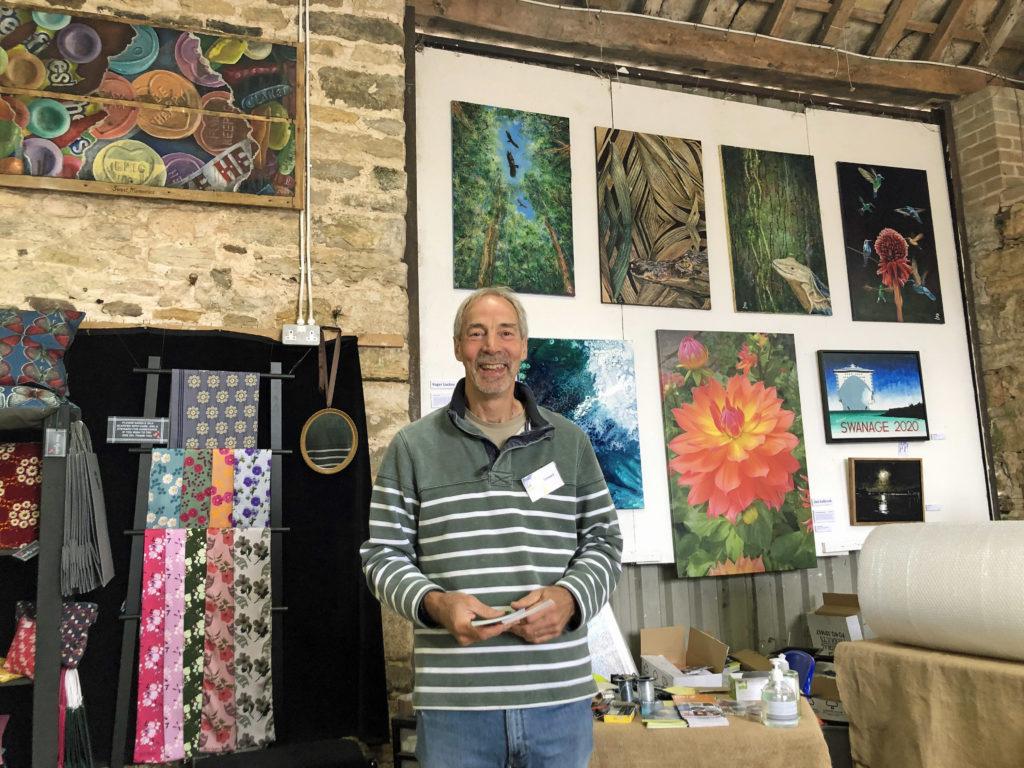 Roger Lockey at Rollington Barn Exhibition