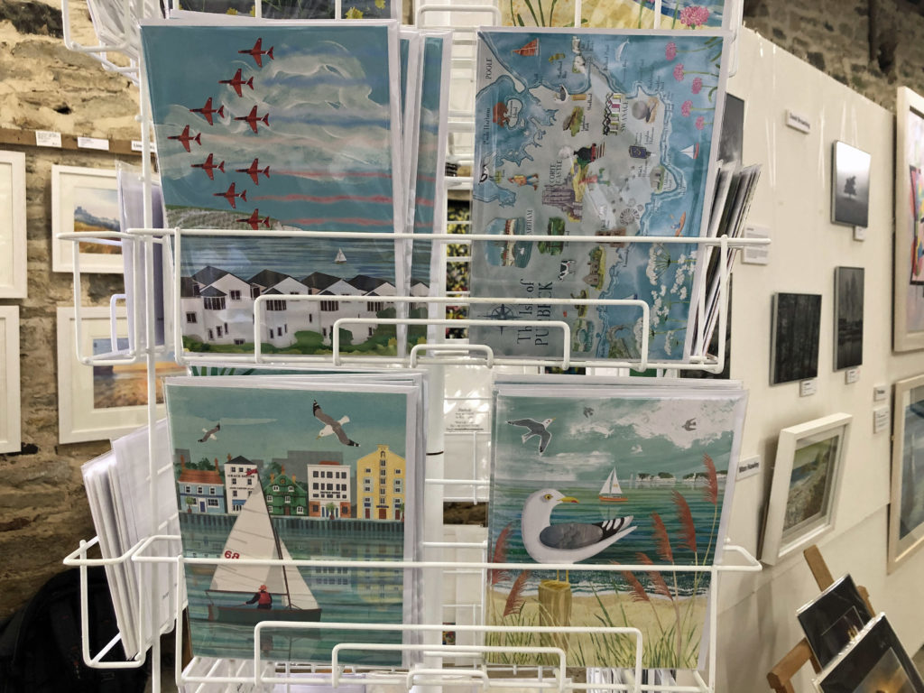Cards at Rollington Barn Exhibition