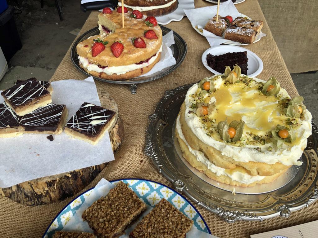 Cakes at Rollington Barn Exhibition
