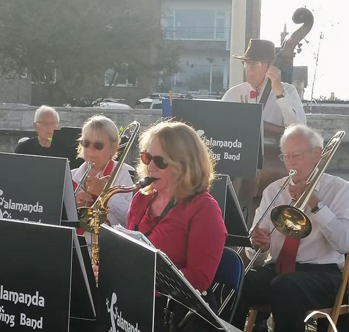Salamanda Swing Band  at Swanage Bandstand