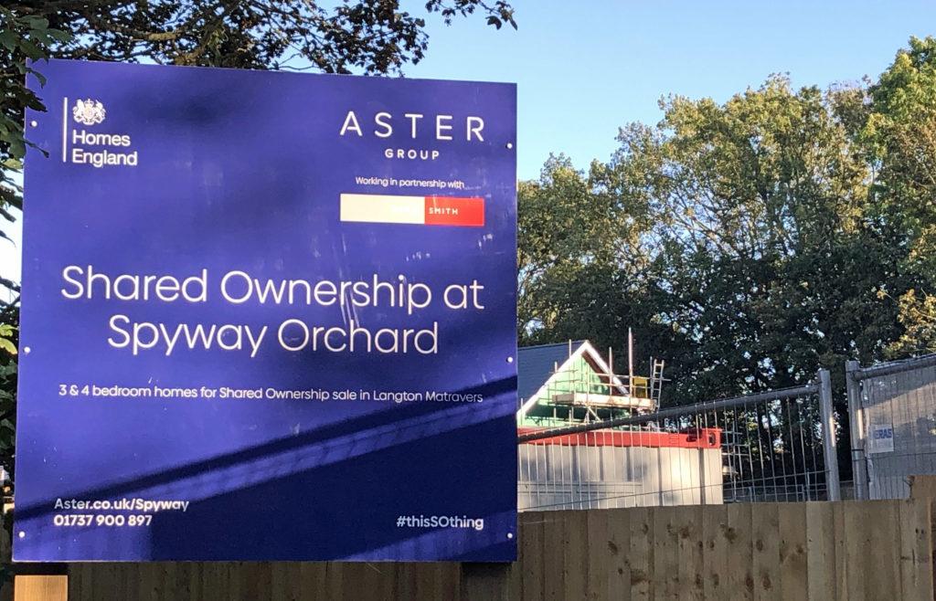 Spyway Orchard housing development