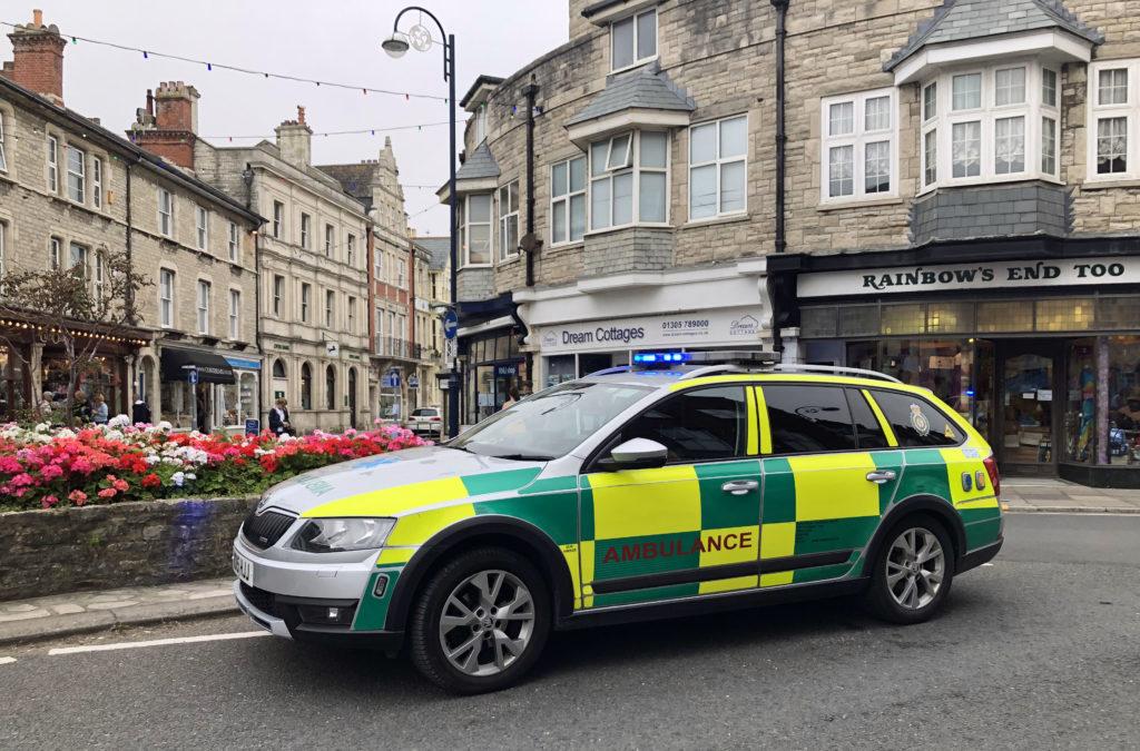 Swanage Ambulance Car