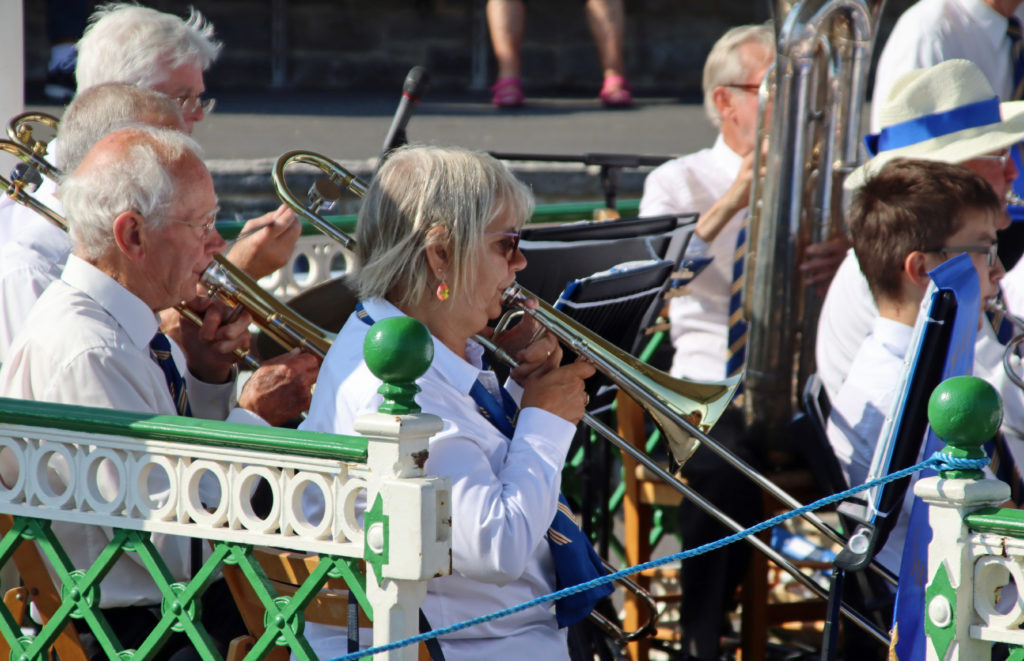 Moira Purver at Swanage Bandstand