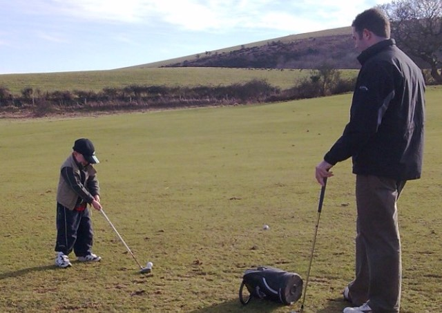 Tom's first lesson