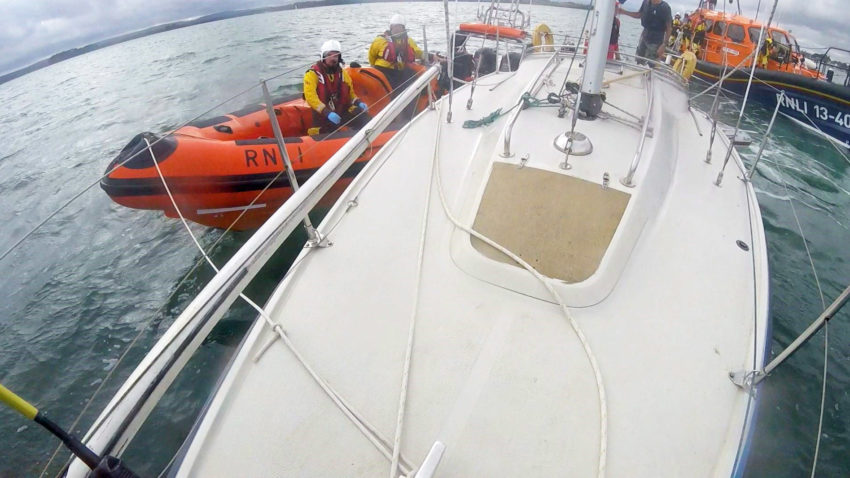 Yacht towed back to Poole Harbour by lifeboat