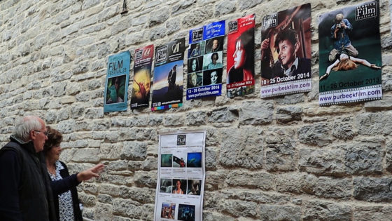 Purbeck Film Festival posters