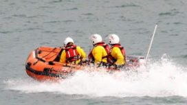 Swanage in-shore lifeboat