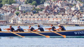 Swanage rowing boat