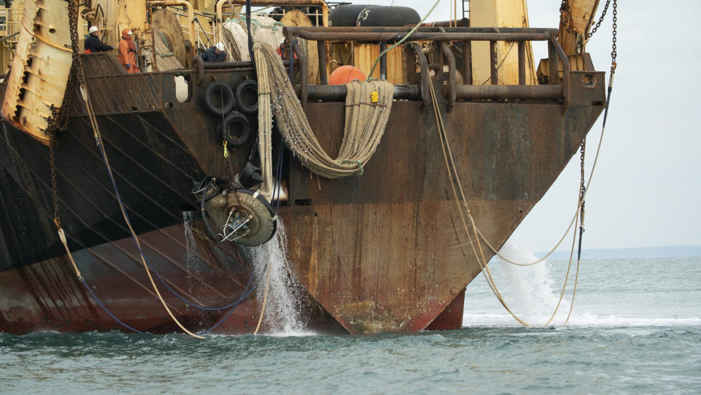 Margiris super trawler