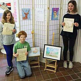 Winners of art competition
